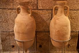 Anforas aceite de oliva. Época  Romana.
